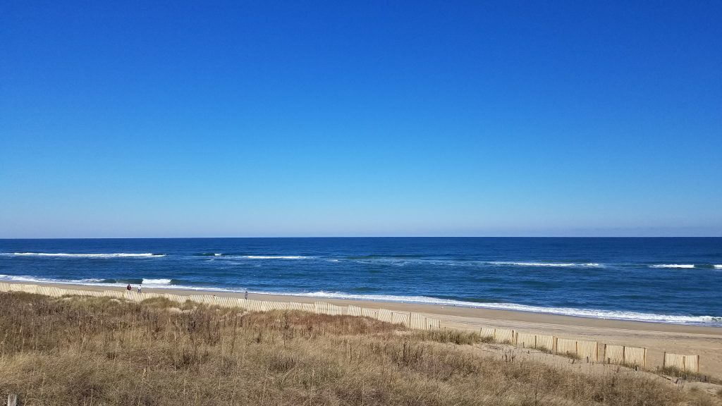 the beach in kill devil hills nc